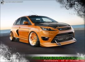 Ford Focus STR - WTB Comp - BG by PepiDesigns