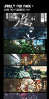 JPhilly PSD Pack 1 by JPhilly