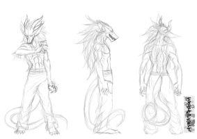 Despair ref sheet -sketch- by Omnoproxyl337