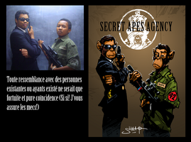 Manu and Cedric - secret apes by Heri-Shinato