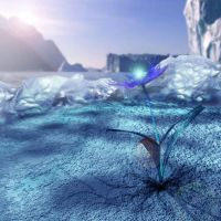 Beneath Ice is Life by JoeCool42