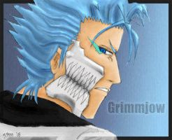 . grimmjow with mask v2 . by Grimmjow-FC