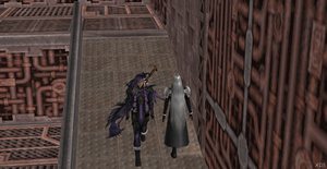 Caius Ballad and Sephiroth by Hatredboy