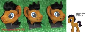 Male MLP Pony Head (possible dr whooves) by AtalontheDeer