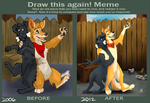 Draw this again meme by VengefulSpirits