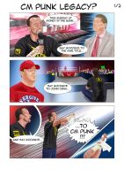 CM PUNK's LEGACY - part 1 of 2 by Roselyne777