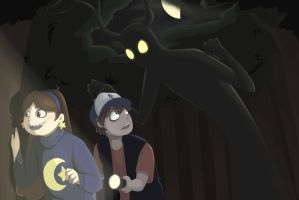 beware what's behind you by wittle-sana-chan