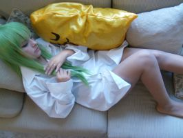 CC sleeping - Code geass by megamihinata