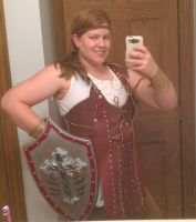 Dragonage II Aveline cosplay Teddiliza by teddiliza