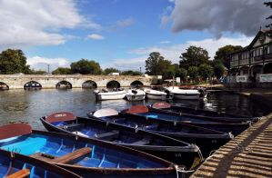 Row Boats for hire by Pawlu22