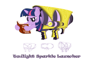Twilight Sparkle Launcher by FlamingoRich