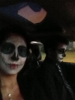 Skeletons  for a Drive by DancingInTwilight