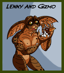 Gremlins 2 - discarded Idea - Gizmo new Protector by TheCiemgeCorner
