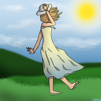 Windy Day by Tamcsikos