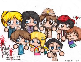 The Walking Dead by Violent-Rainbow