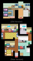Pokecchi Game: Your House Old + New by Midnitez-REMIX