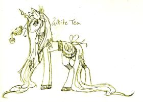 White Tea MLP by FuneralDyingheart