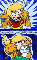 Samus is a Metroid? Wha... by samusmmx