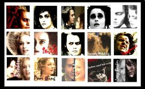 Sweeney Todd Icons by CaptainTorrez