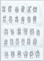 Characters for any card game by knight-xcii