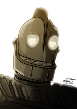 The Iron giant by Ultrafpc