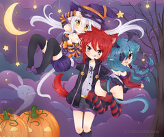 .Happy Halloween. by lNeko-Hime