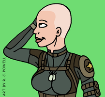 Madame Cueball's Salon - Cassie Cage by Rennon-the-Shaved