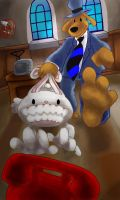 Sam and Max Freelance Police by Icequeenkitty