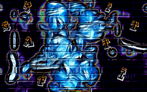 GRAFITTI WALL ART by CSuk-1T