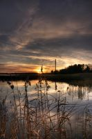 sunset in espoo by alllu