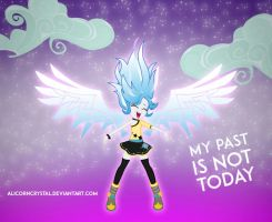 My past is not Today -  Princess Crystal Dreams by AlinaDreams00
