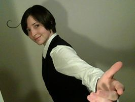 Ready to go, bella? by Shewen