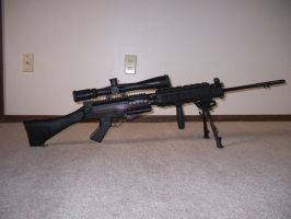 L1A1 FAL project by SithFox