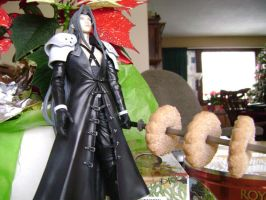 Sephiroth and the Cookie Jar by cyberelf2029