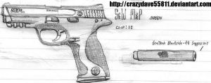 Smith and Wesson MP .40 by CrazyDave55811