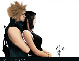 Cloud_Strife_And_Tifa_Lockhart by keishajl