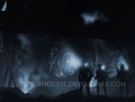 Dark Discovery - Aliens by RoguePL