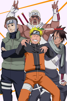 Rap Starz ~ Naruto Shippuden by TheMuseumOfJeanette