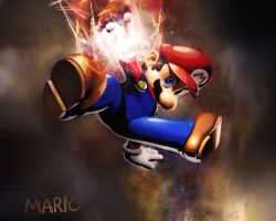 Super Mario Wallpaper by Arsenovicius