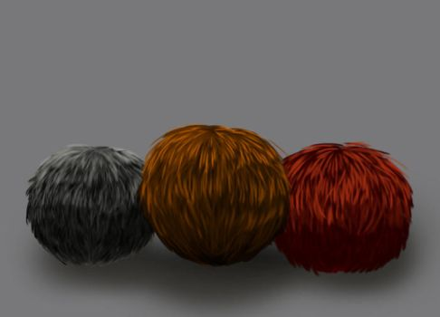 Material Study: Tribbles by KtObermanns