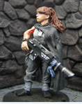 Tanith Female Soldier by DrDoSoLittle