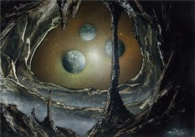Asteroid's eye by CanShaker