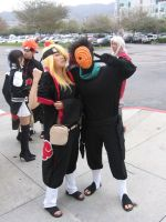 Tobi and Deidara  BFFs by raeraem