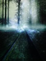 Magic tracks Blue by aresgirl34