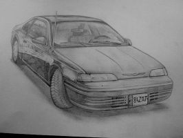 Ford Thunderbird 1991 by Renet555