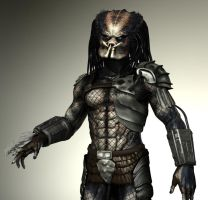 Predator in 3ds MAX WIP by FoxHound1984