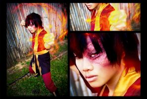 Avatar : Fire Bending Prince by JialingPan
