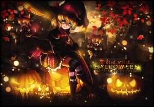 Halloween Witch by Vionas