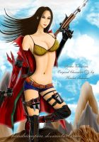 The Gunslinger Girl by hendriempire