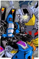 G1 Dirge Grimlock colors low by BDixonarts